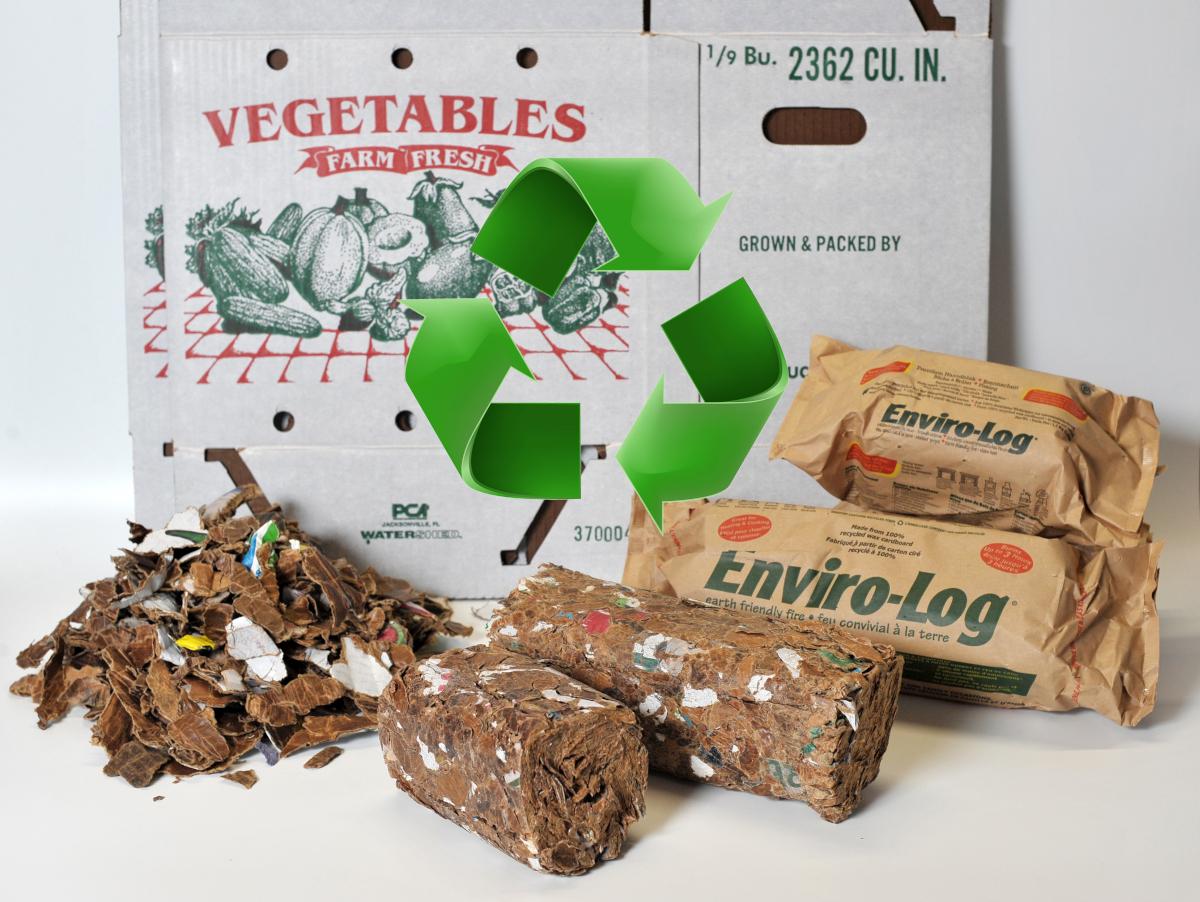 Wonderbaarlijk 6 stuks milieuvriendelijke haardblokken 1,2 Kg - Greenheat.nl PO-43