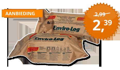 Spiksplinternieuw Milieuvriendelijke Haardblokken van Enviro-Log - GreenHeat.nl XN-02