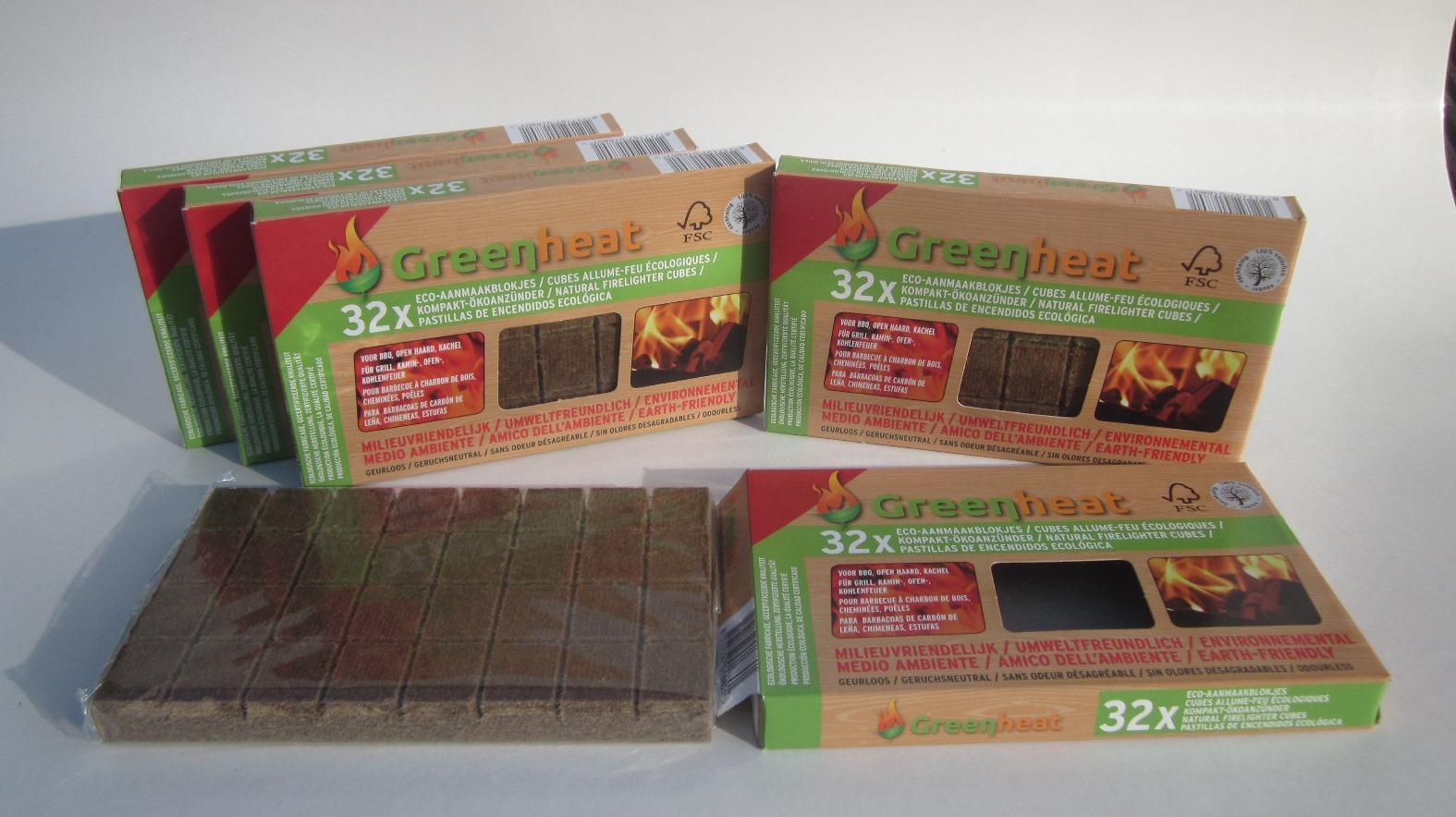Hedendaags 5 doosjes Ecologische aanmaakblokjes = 4 + 1 Gratis FA-39
