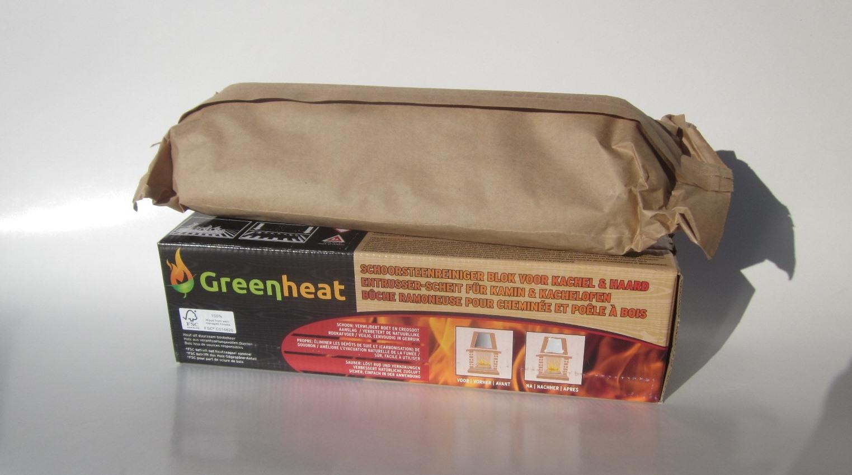 Brandblokken In Huis : Schoorsteenreiniger blok kg fsc greenheat
